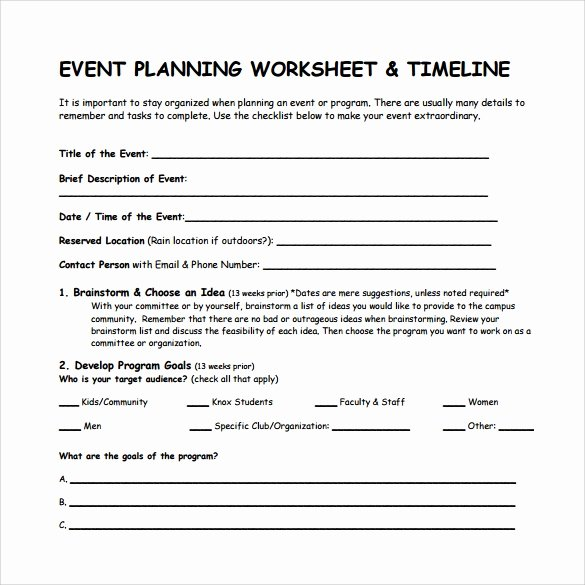 Conference Planning Timeline Template Beautiful 9 event Timeline Templates – Samples Examples formats
