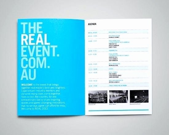 Conference Program Book Template Best Of Booklet Template event Booklet Brochure Template Booklet