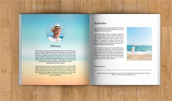 Conference Program Booklet Template Beautiful 20 Funeral Booklet Templates Free Psd Ai Vector Eps