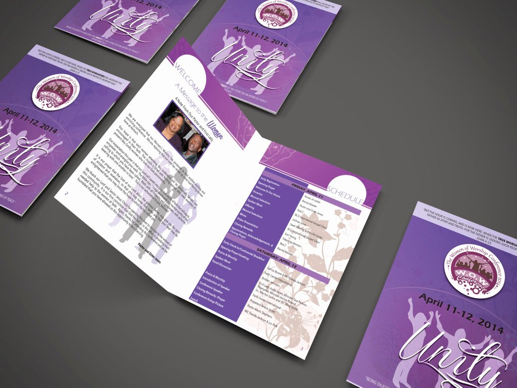 Conference Program Booklet Template Luxury Wow Conference Booklet 2014