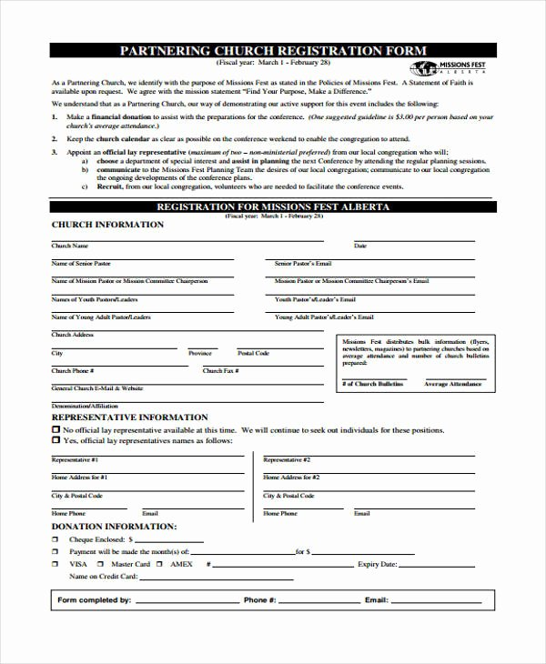Conference Registration forms Template Inspirational 23 Conference Registration form Templates