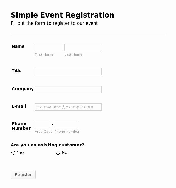 Conference Registration forms Template Inspirational Registration form Template