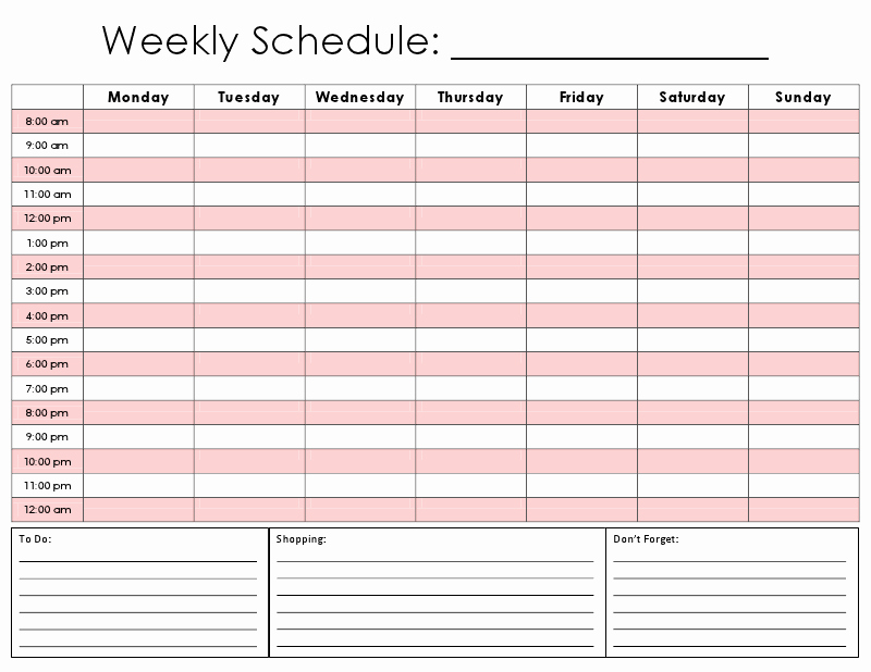 Conference Room Schedule Template Best Of 8 Best Of Printable Hourly Calendar Template Free
