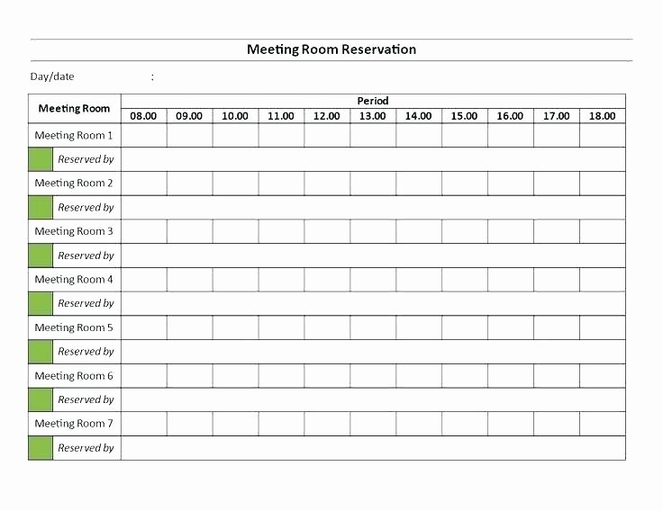 Conference Room Scheduler Template Lovely 96 Conference Room Calendar Template Free Membership