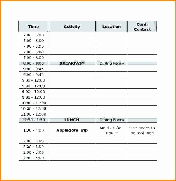 Conference Room Scheduling Template New Room Schedule Template Meeting Room Schedule Template