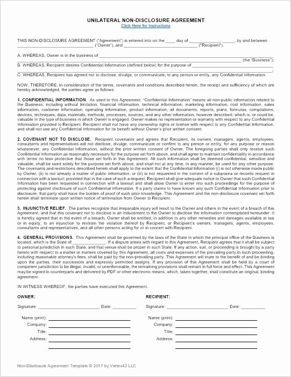 Confidentiality Agreement Template Word New Best 25 Non Disclosure Agreement Ideas On Pinterest