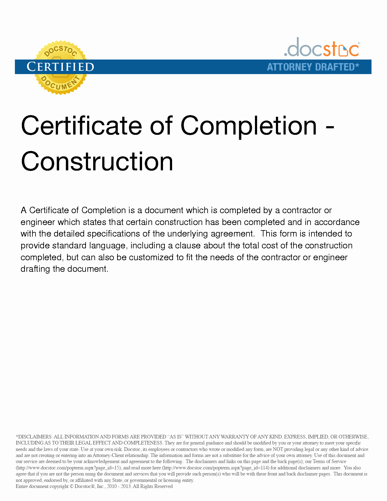 Construction Completion Certificate Template Inspirational 6 Best Of Construction Project Pletion Letter