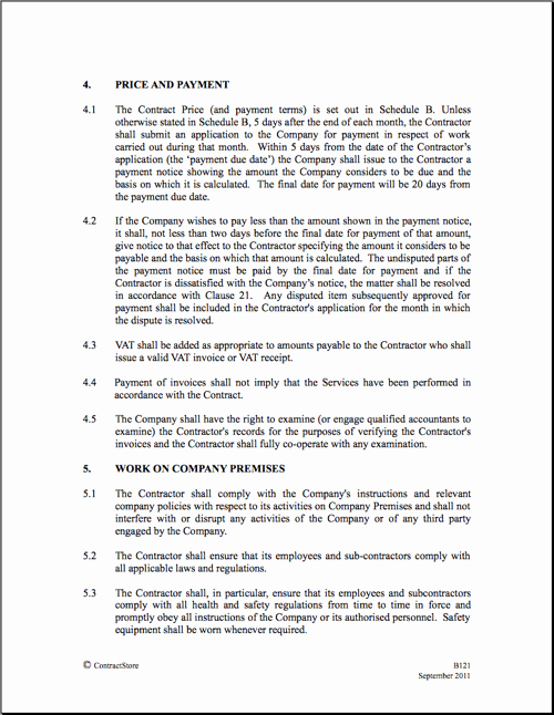 Construction Management Contract Template Fresh Construction Contract Template