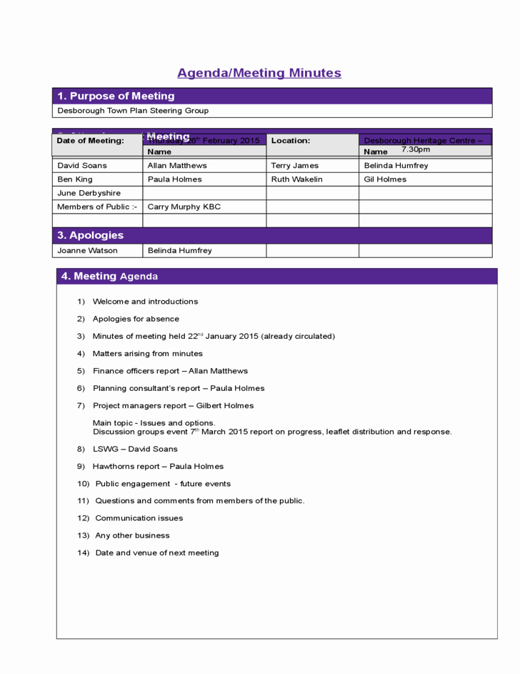 Construction Meeting Minutes Template Luxury Construction Bid Template
