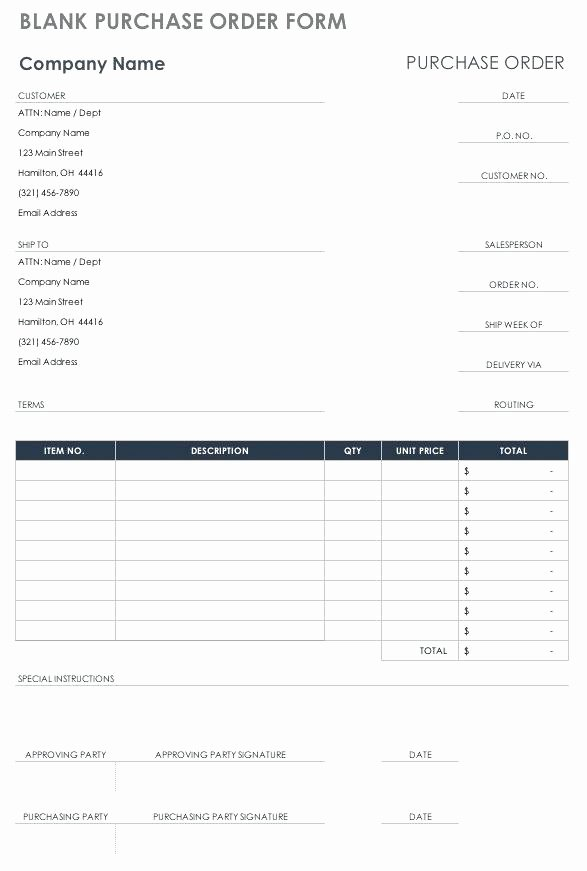 Construction Purchase order Template Lovely Embroidery order form Template Free Gallery Supply Best