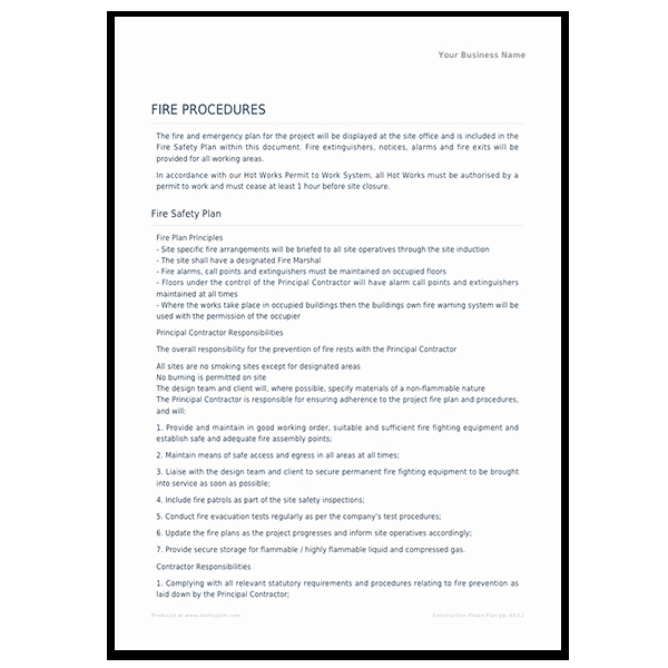Construction Safety Plan Template Best Of Construction Safety Construction Safety Briefing