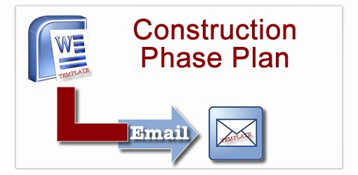 Construction Safety Plan Template Fresh Construction Phase Plan Templates