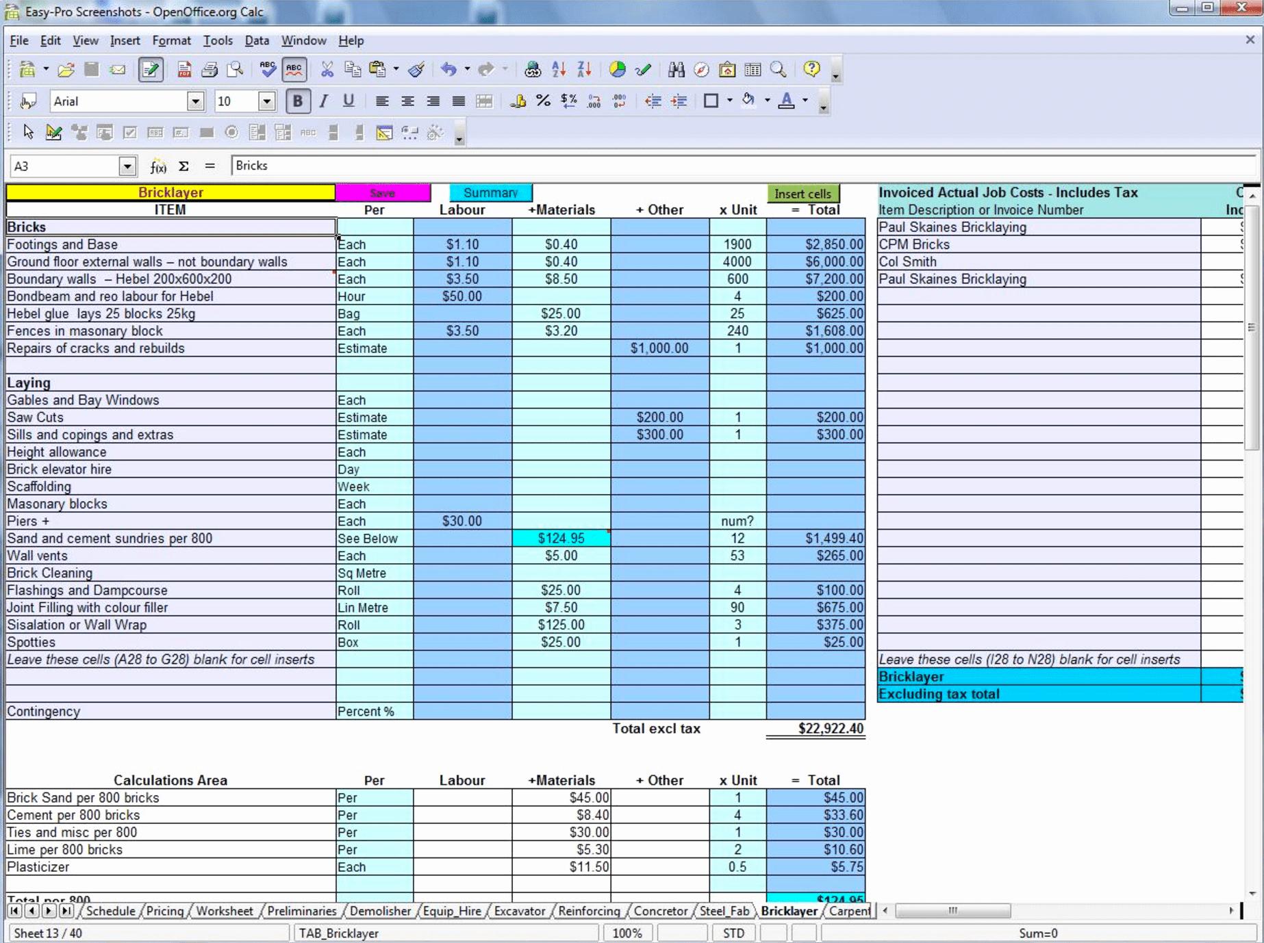 Construction Spec Sheet Template Best Of Builders Spec Sheet Template