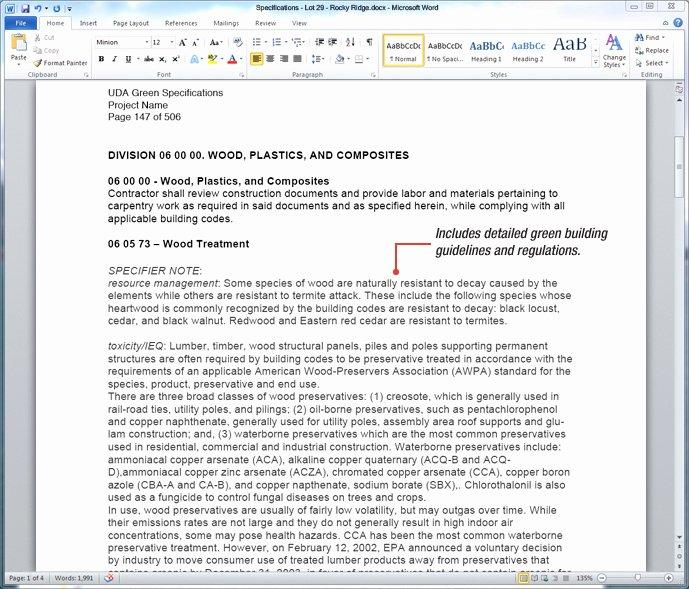 Construction Spec Sheet Template Inspirational 27 Of Construction Specification Cover Sheet