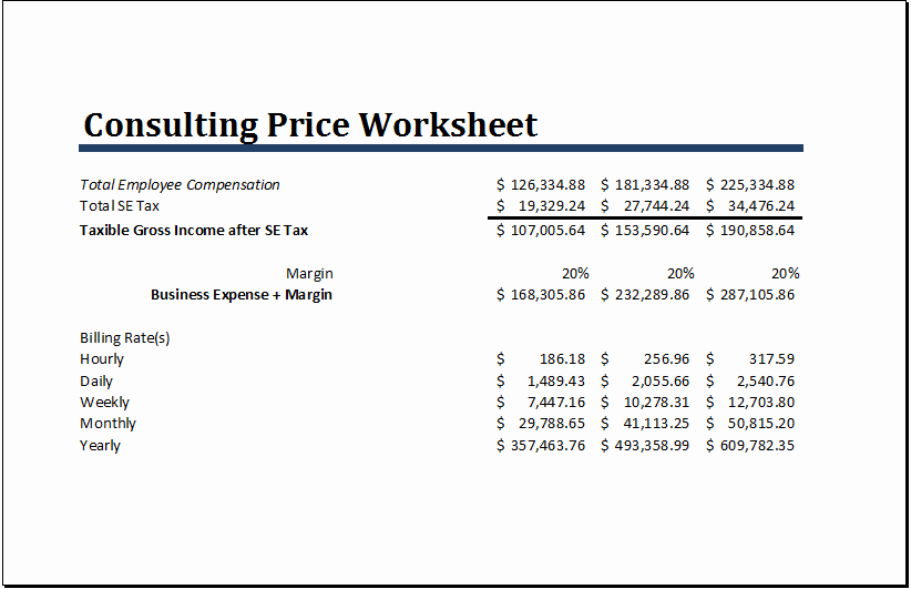 Consultant Fee Schedule Template Awesome 20 Editable Worksheet Templates for Everyone S Use