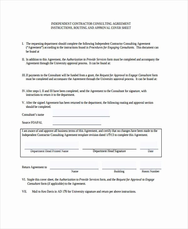Consulting Agreement Template Short New Consulting Agreement form Samples 7 Free Sample