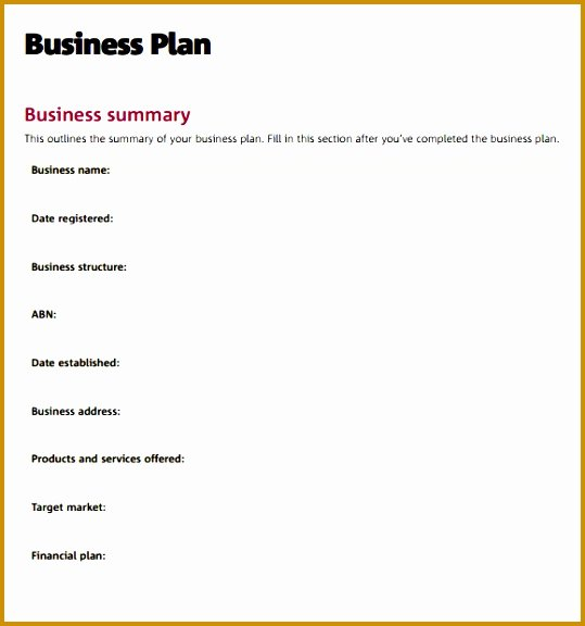 Consulting Business Plan Template Fresh 4 Consulting Business Plan Template