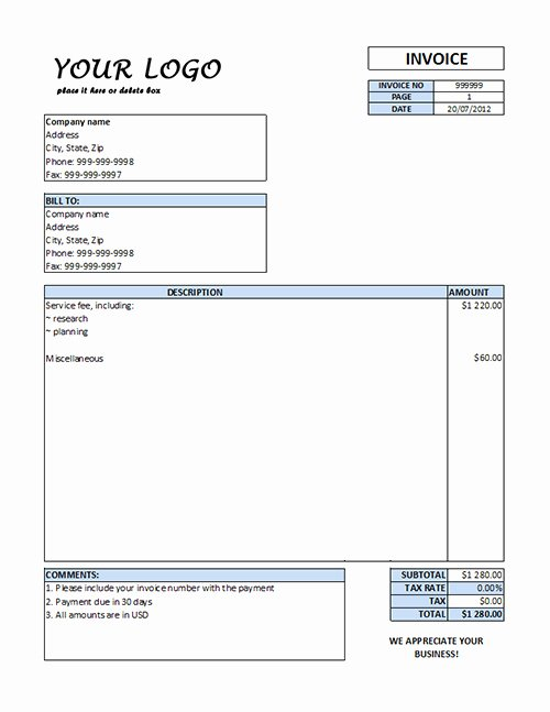 Consulting Invoice Template Word Lovely Consulting Invoice Template Word