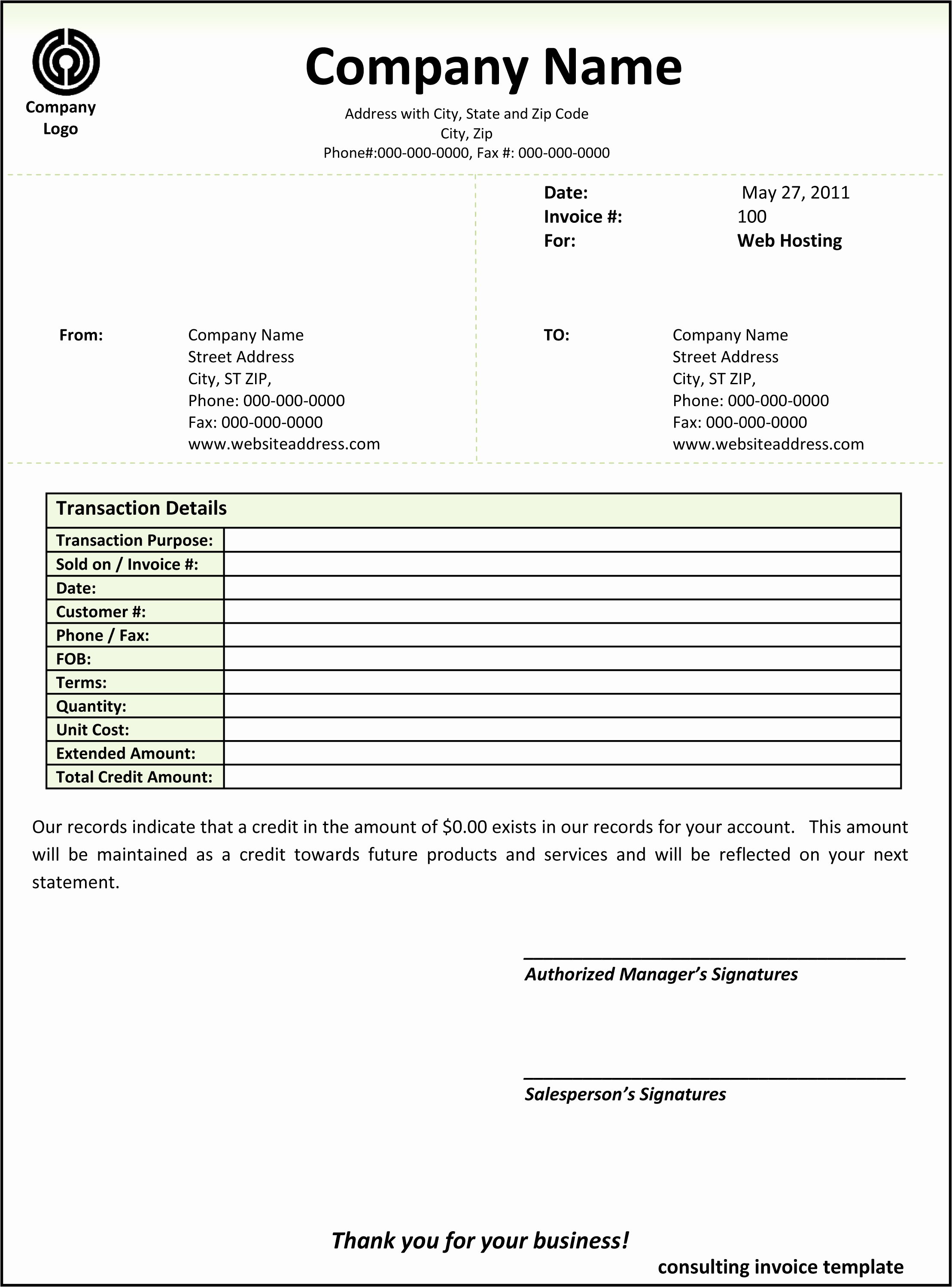 Consulting Invoice Template Word New Consulting Invoice Template Word