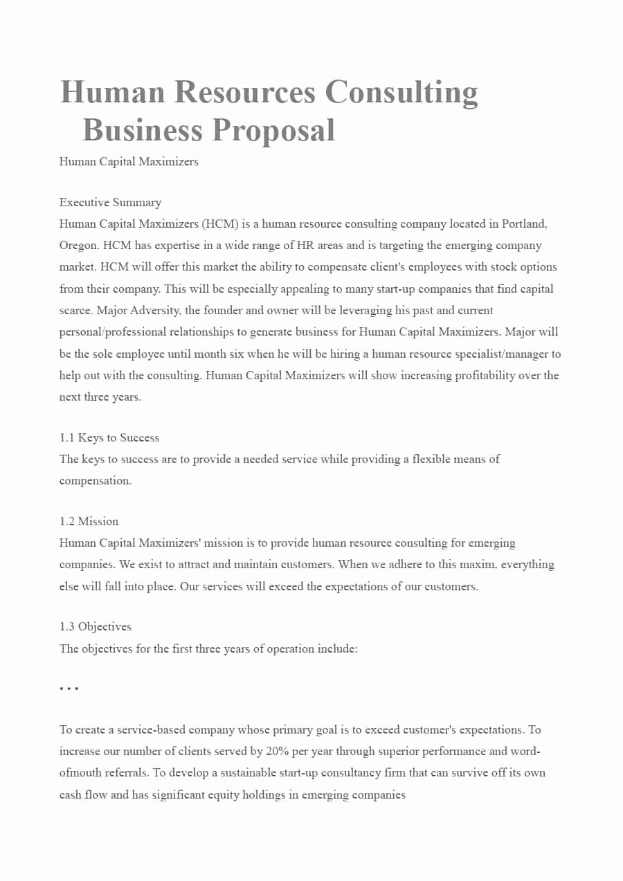 Consulting Proposal Template Doc Best Of 39 Best Consulting Proposal Templates [free] Template Lab