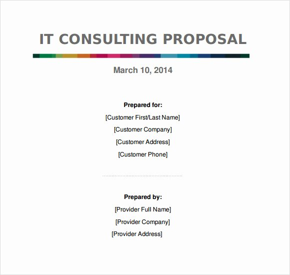 Consulting Proposal Template Doc Elegant Consulting Agreement 9 Free Samples Examples format