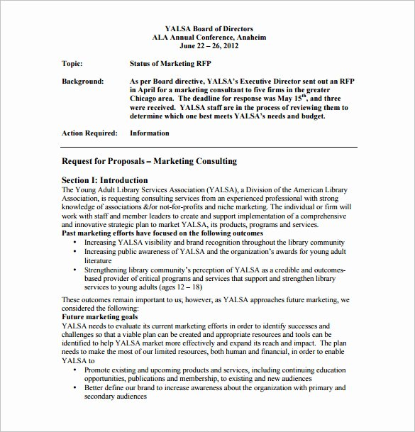 Consulting Proposal Template Doc Inspirational Consulting Proposal Template