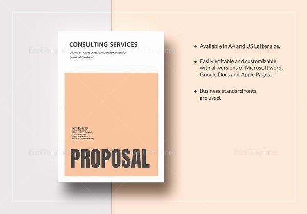 Consulting Proposal Template Mckinsey Beautiful Consulting Proposal Templates 15 Free Sample Example