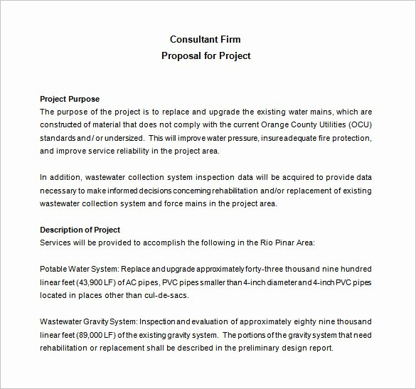 Consulting Proposal Template Mckinsey Unique Consulting Proposal Template 18 Free Word Pdf format