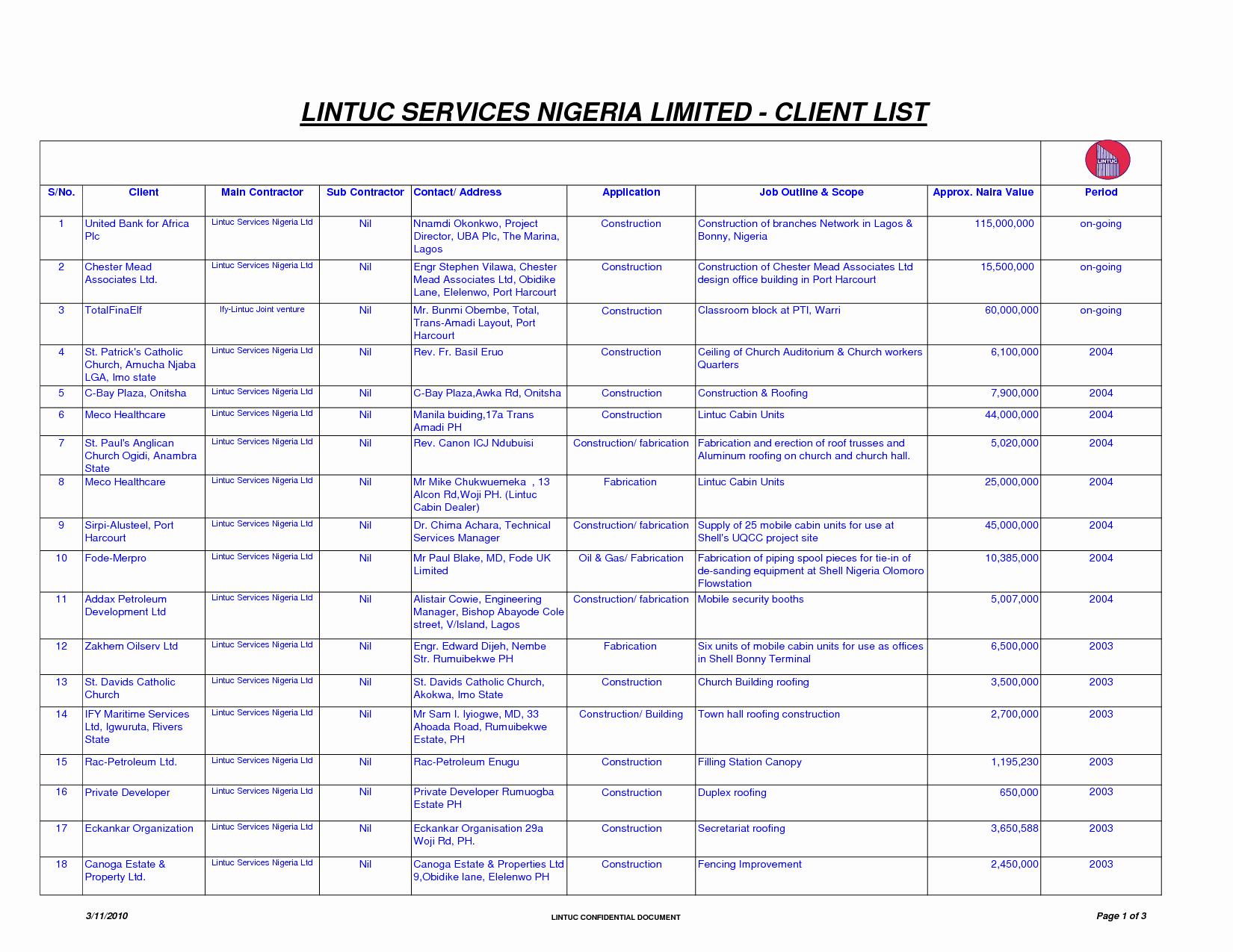 Contact List Excel Template Inspirational Best S Of Contact List Template Excel Excel Contact