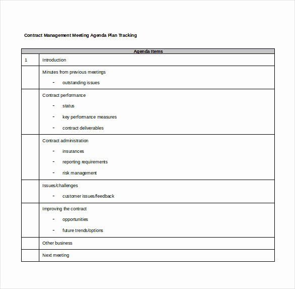 Contract Management Template Excel New Contract Tracking Template 10 Free Word Excel Pdf