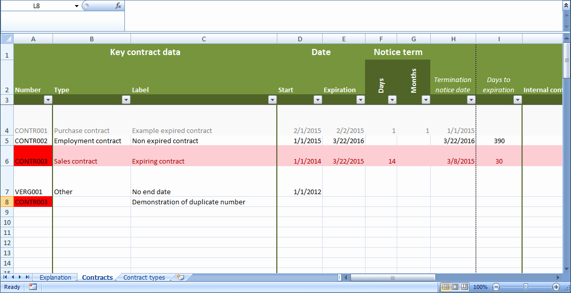 Contract Management Template Excel New Free Excel Contract Management Template Free Excel