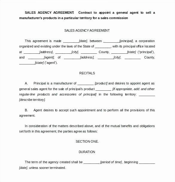 Contract Of Sale Template Luxury Simple Sales Agreement Template
