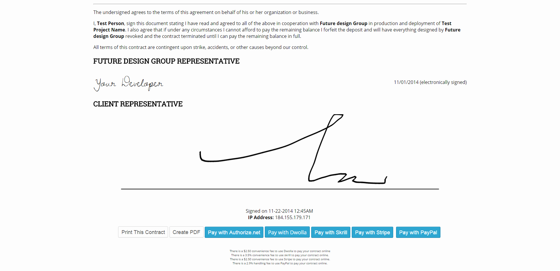 Contract Signature Page Template Inspirational 25 Of Signature Line Template Word Doc