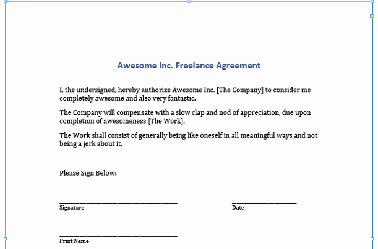 Contract Signature Page Template Luxury Signing Digital Contracts Adding Your Signature to A Pdf