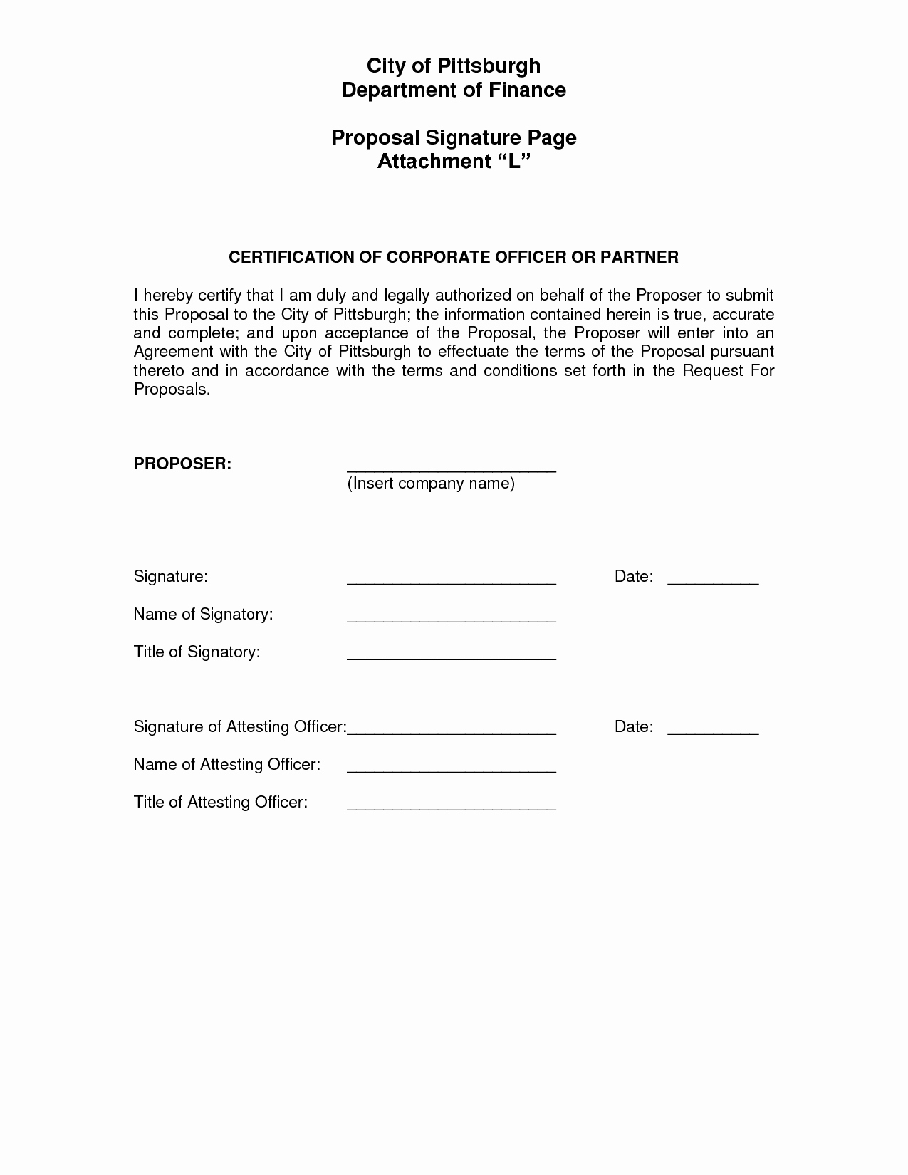 Contract Signature Page Template New Best S Of Sample Contract Signature Page Notary