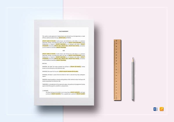 Contract Template Google Docs Beautiful 12 Sample Installment Sales Contracts