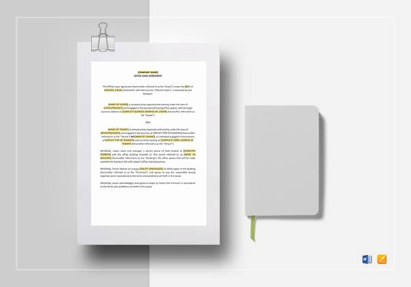 Contract Template Google Docs Elegant 19 Simple Mercial Lease Agreements Word Pdf Pages