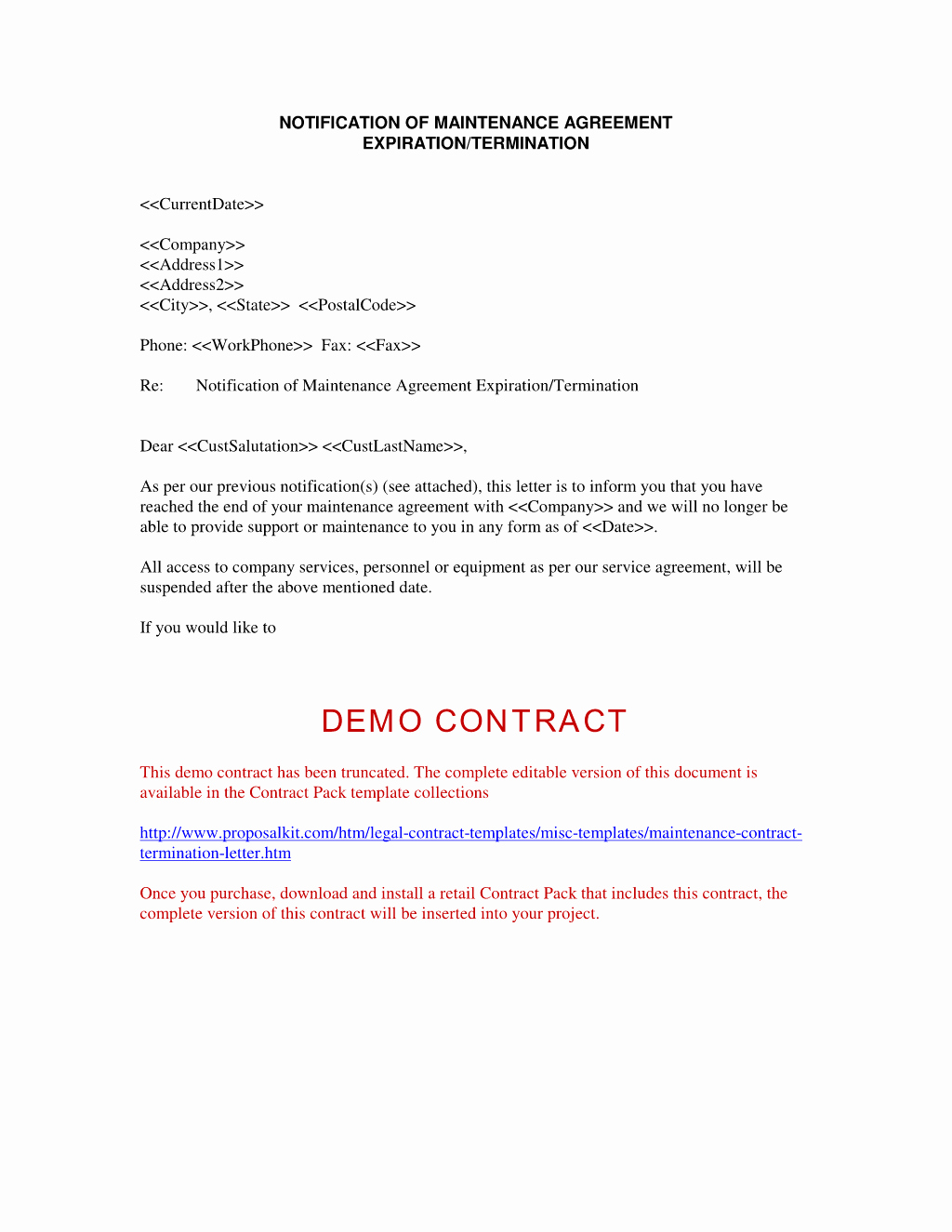 Contract Termination Letter Template Elegant Agreement Termination Letter