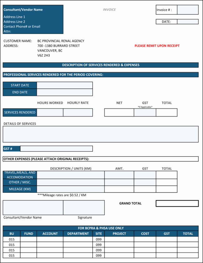 Contractor Invoice Template Word Inspirational Construction Invoice Template 5 Contractor Invoices