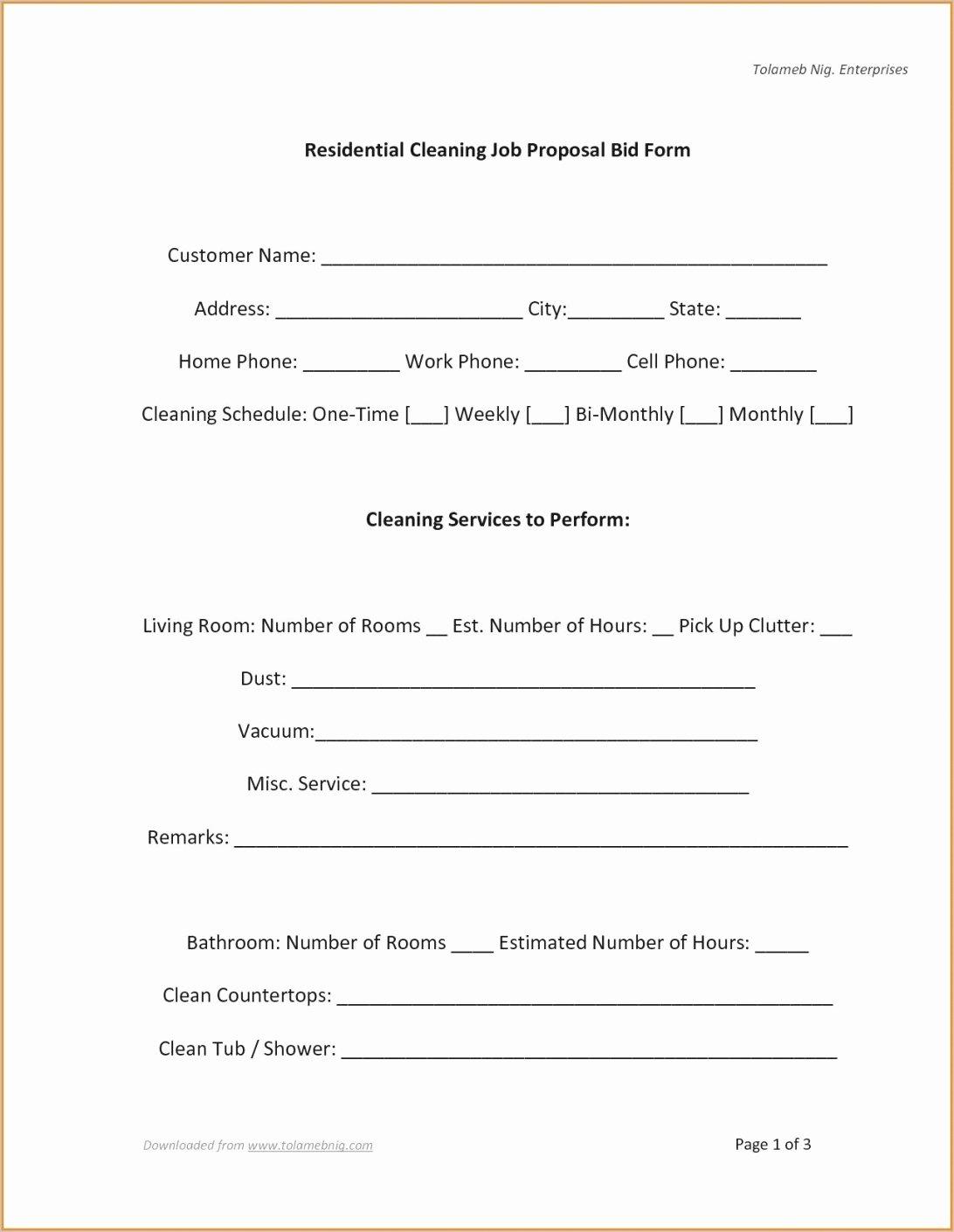 bid proposal template pdf