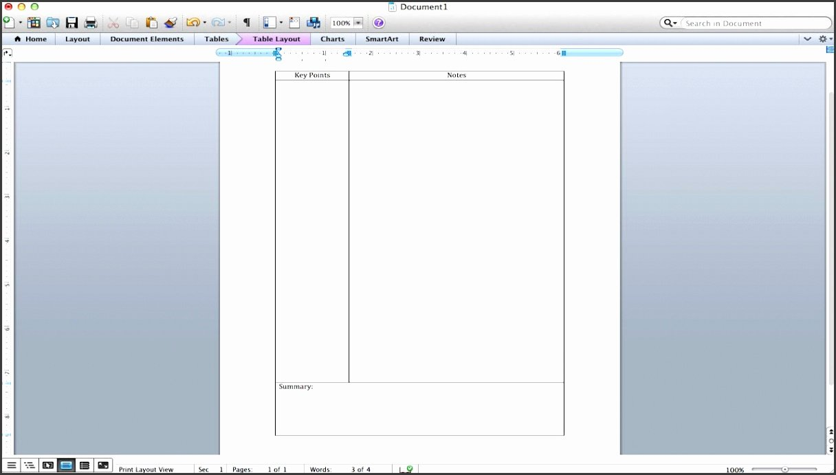 Cornell Note Template Word Beautiful 10 Cornell Notes Template for Word Sampletemplatess