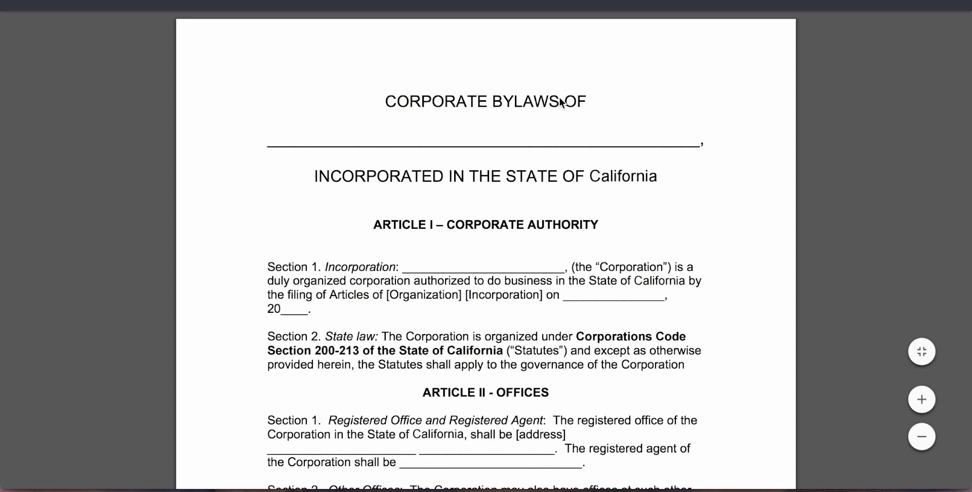Corporate bylaws Template Pdf Fresh Free Corporate bylaws Template Pdf Word Youtube Word Mughals