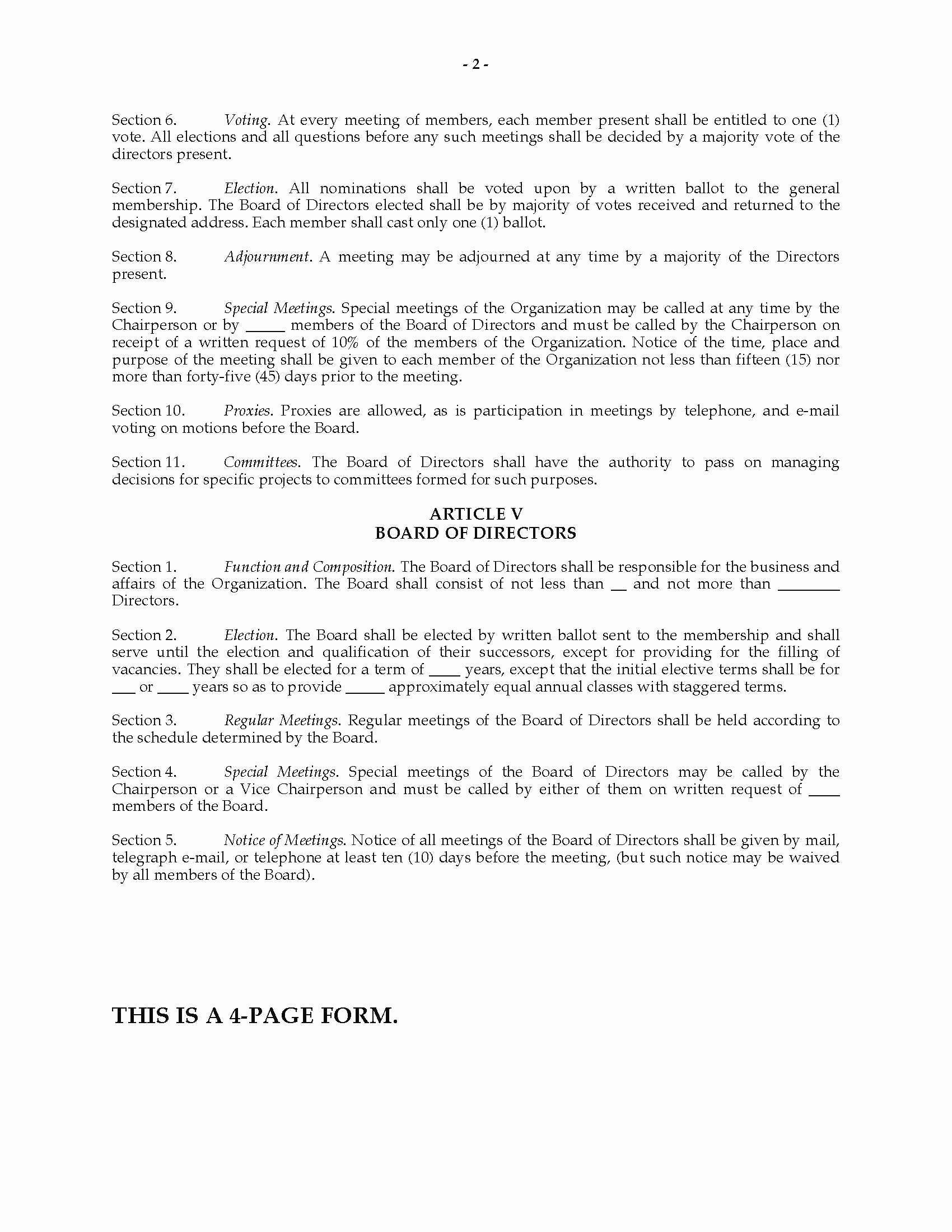 Corporate bylaws Template Pdf Luxury Inspirational Corporate bylaws Sample Pdf
