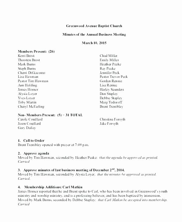 Corporate Minutes Template Pdf Elegant Corporate Minutes Template Pdf Meeting Minute format