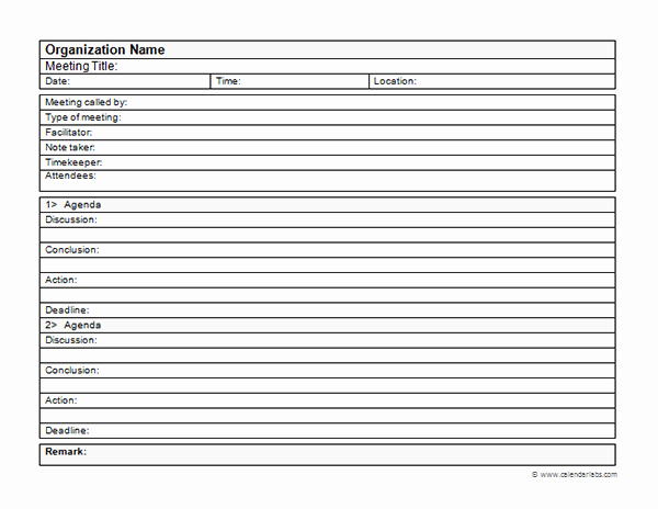 Corporate Minutes Template Pdf Unique Business Meeting Minutes Template Free Printable Templates