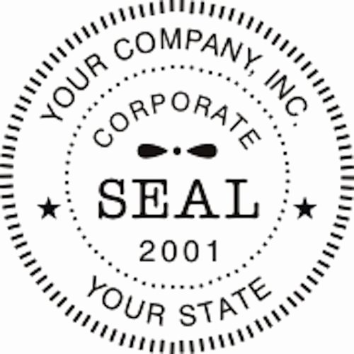Corporate Seal Template Word Awesome Self Inking Round Corporate Business Pany Logo Seal