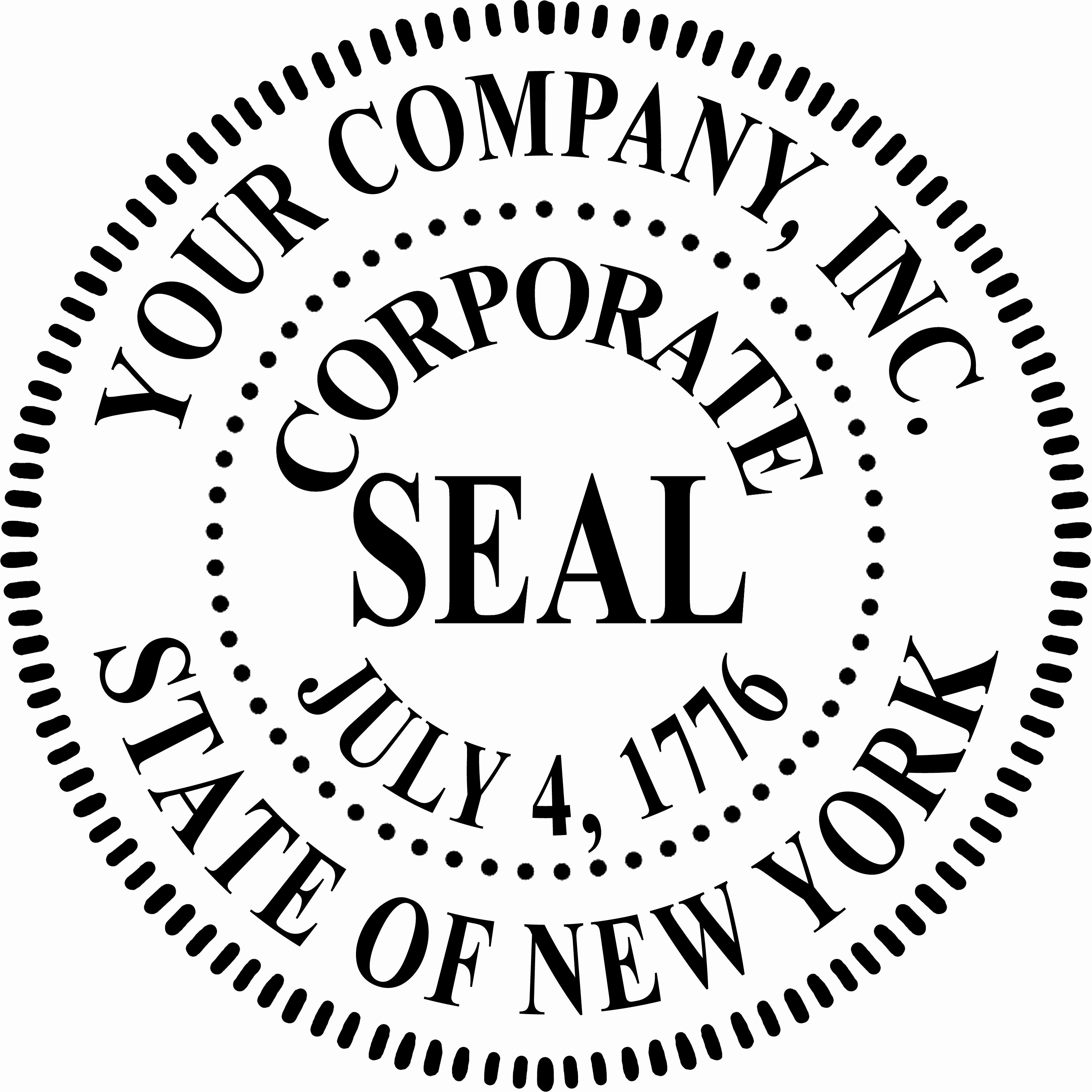 Corporate Seal Template Word Lovely Corporation Setup & Dissolution R&g Brenner