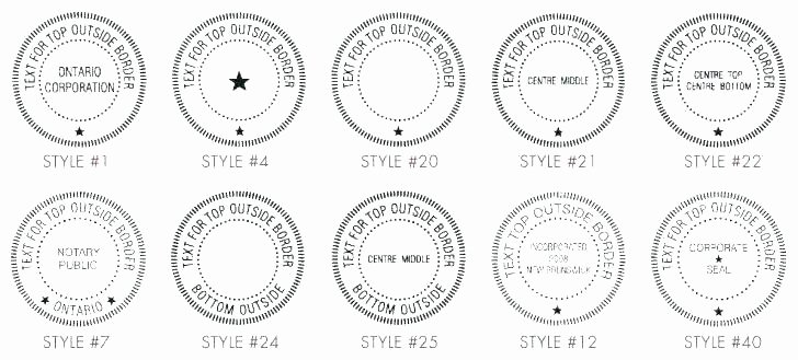 Corporate Seal Template Word Unique Pany Rubber Stamp Template First Class Distressed Stamp