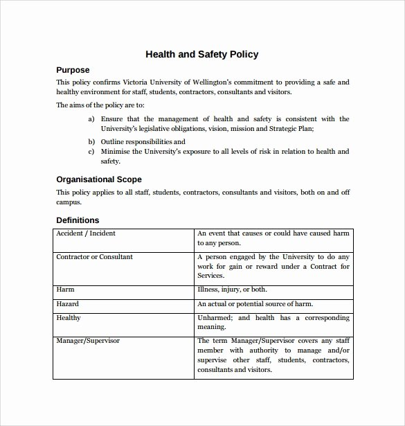 Corporate Security Policy Template Elegant Corporate Security Policy Template Invitation Template