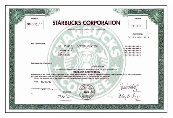 Corporate Stock Certificate Template Awesome 23 Stock Certificate Templates Psd Vector Eps